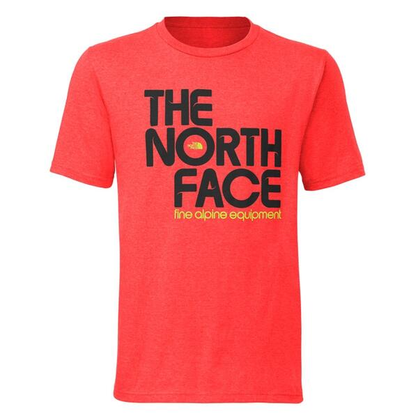 The North Face Men's Short Sleeve Up And Up Tee-shirt