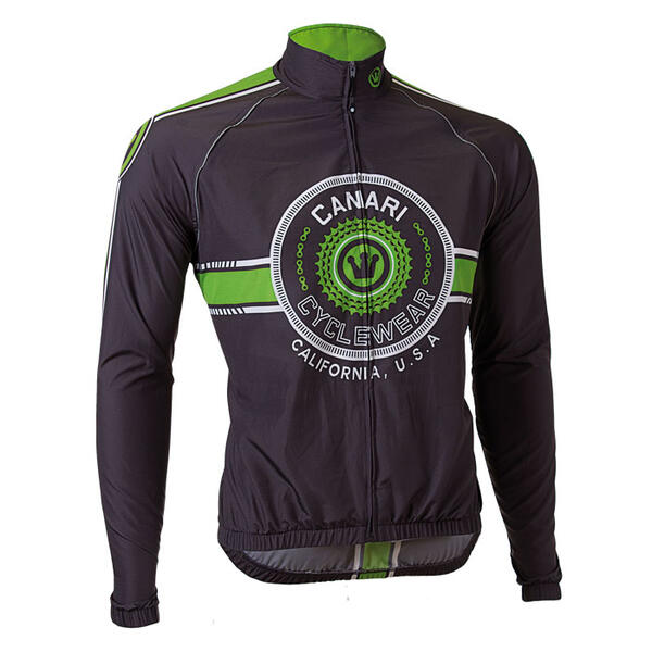 Canari Men's Shift Wind Shell Cycling Jacket
