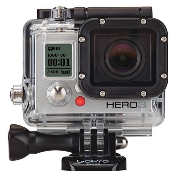GoPro HD Hero3: Silver Edition Camera
