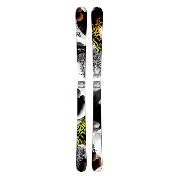 Salomon Men's Threat Park And Pipe Skis '13 - Flat
