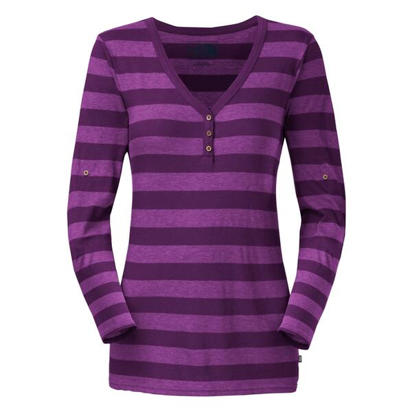 The North Face Women's Long Sleeve Spring Hill Striped Knit