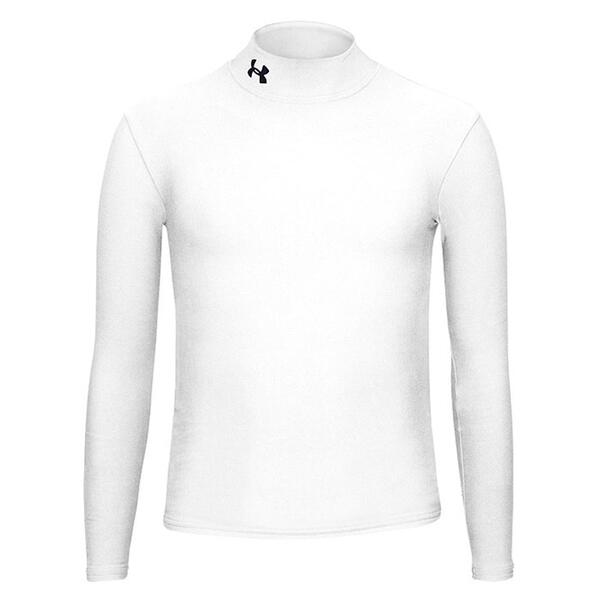 Under Armour Boys Coldgear Long Sleeve Mock