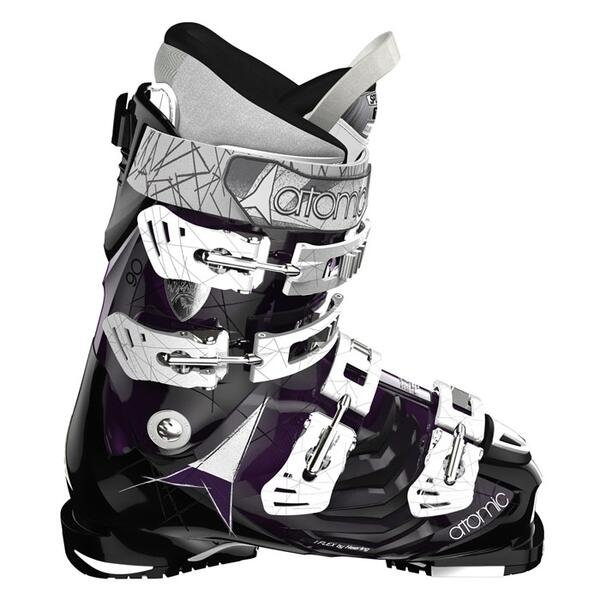 Atomic Women's Hawx 90 W All Mountain Ski Boots '14