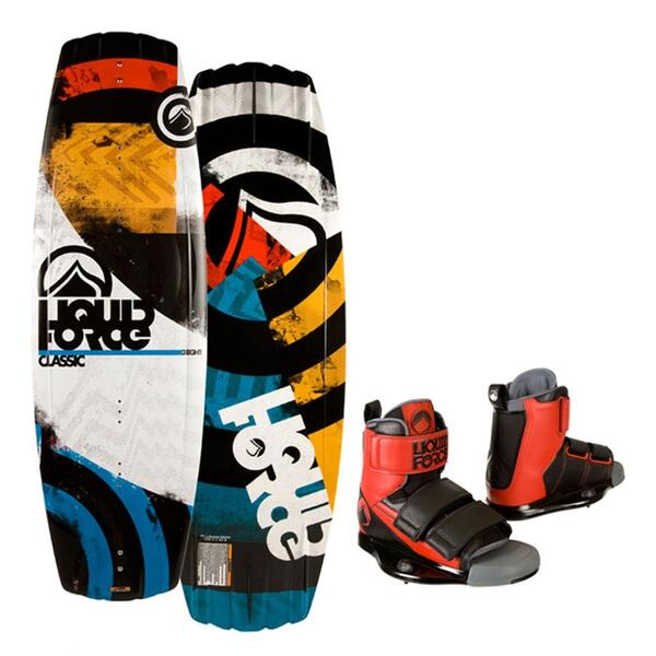 Liquid Force Men's Classic Wakeboard w/ Domain Bindings