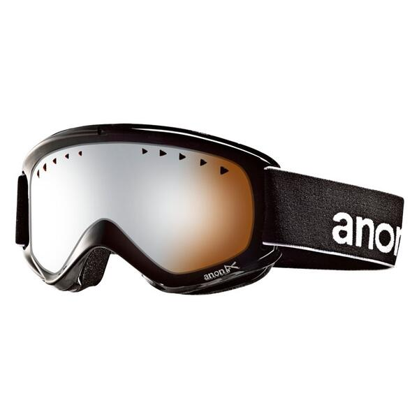 Anon Helix Goggles With Silver Amber Lens