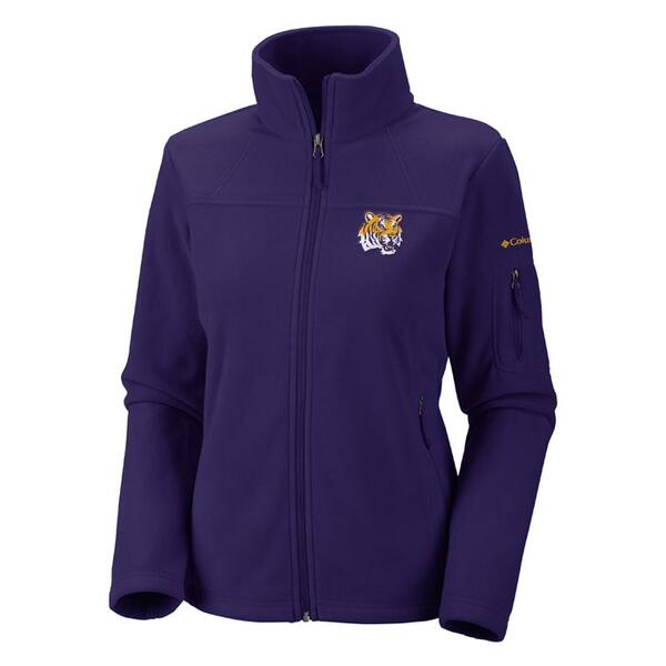 Columbia Sportswear Women's Lsu Give And Go Full Zip