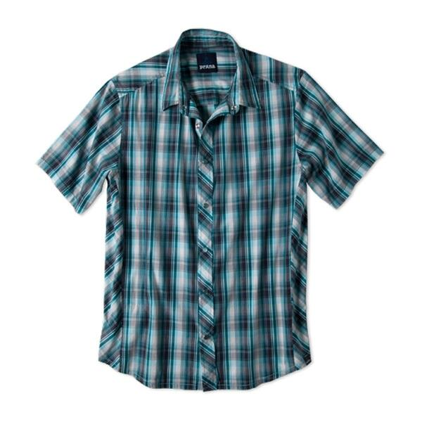 Prana Men's Milo Short Sleeve Woven Shirt
