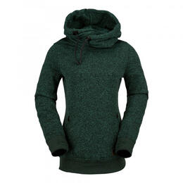Volcom Women's Tower Pullover Fleece Sweater