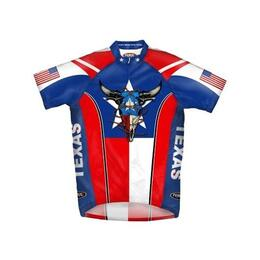 Primal Wear Men's Don't Mess With Texas Cycling Jersey