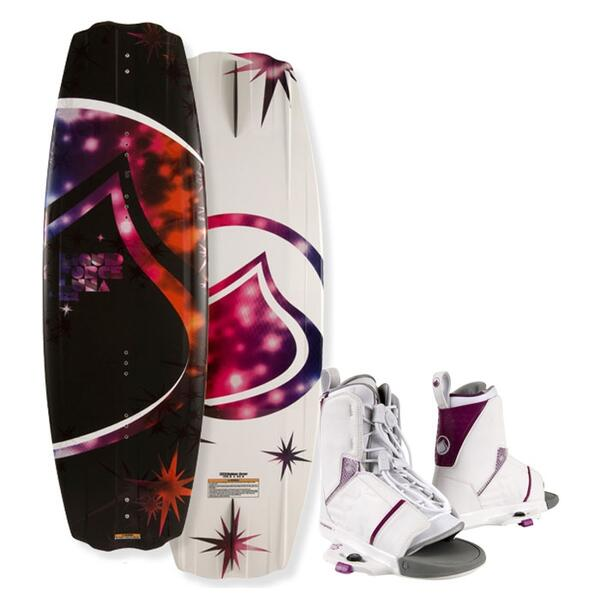 Liquid Force Women's Luna Wakeboard w/ WMN Transit Bindings '12