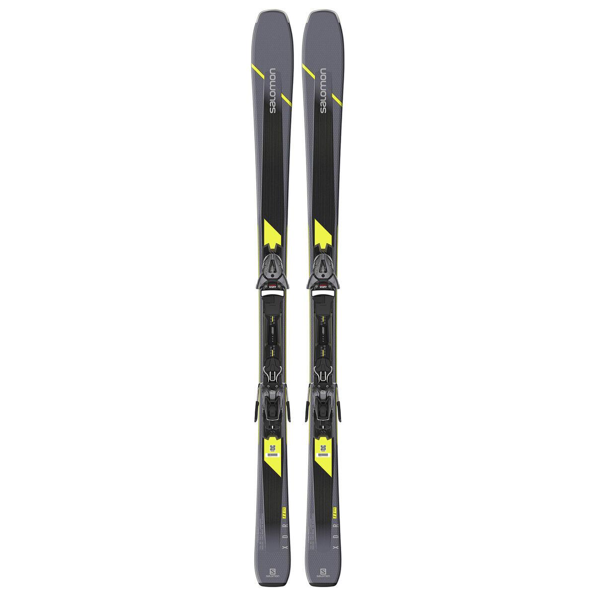 Salomon Men's XDR 80 ST C Skis with Z10 GW L80 Bindings '20