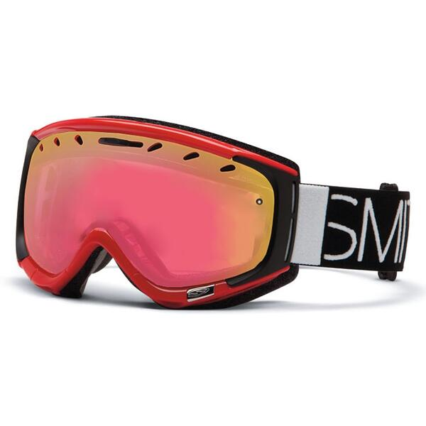 Smith Phenom Snow Goggles with Red Sensor Lens