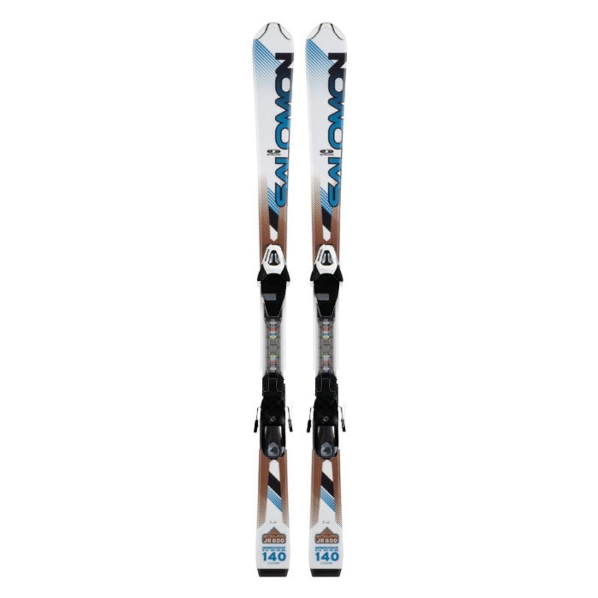 Salomon Youth Enduro Jr 800 Skis With C5 SC Bindings '12