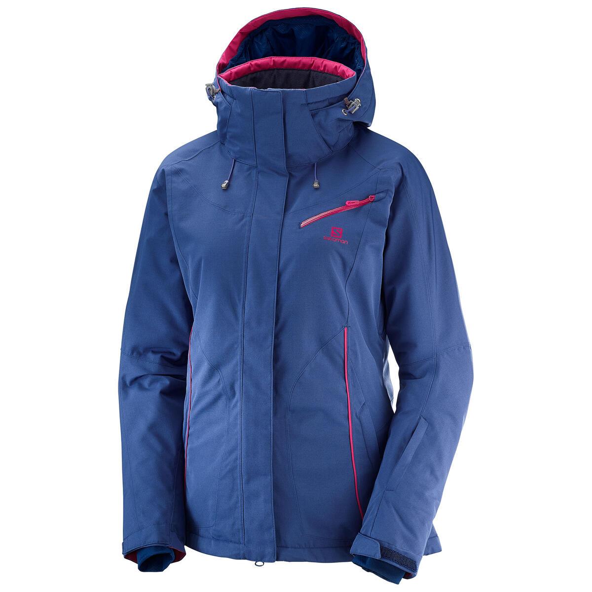 Salomon Fantasy Snowboard Jacket Medieval Blue Heather