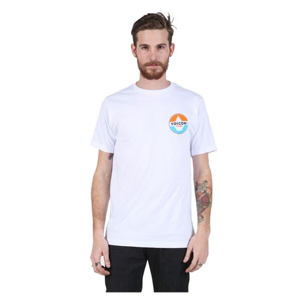Volcom Men's Fractional Short Sleeve Tee
