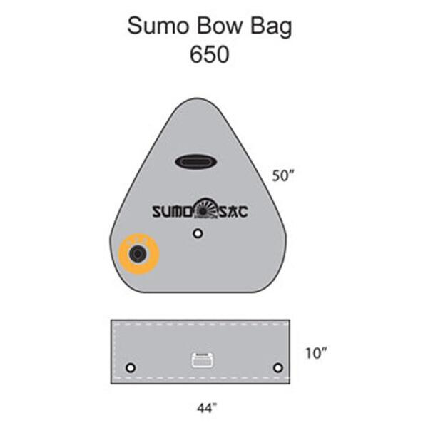 Straight Line Sumo Bow Bag 650lbs Ballast Bags
