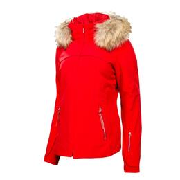 Spyder Women's Posh Real Fur Jacket