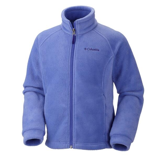 Columbia Sportswear Girl's Benton Springs Full Zip Fleece Jacket