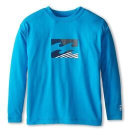 Billabong Boy's Chronicle Slice Longsleeve Rashguard