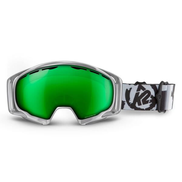 K2 Men's Photophase Goggles with Brown/Standard Green Tripic Mirror Lens