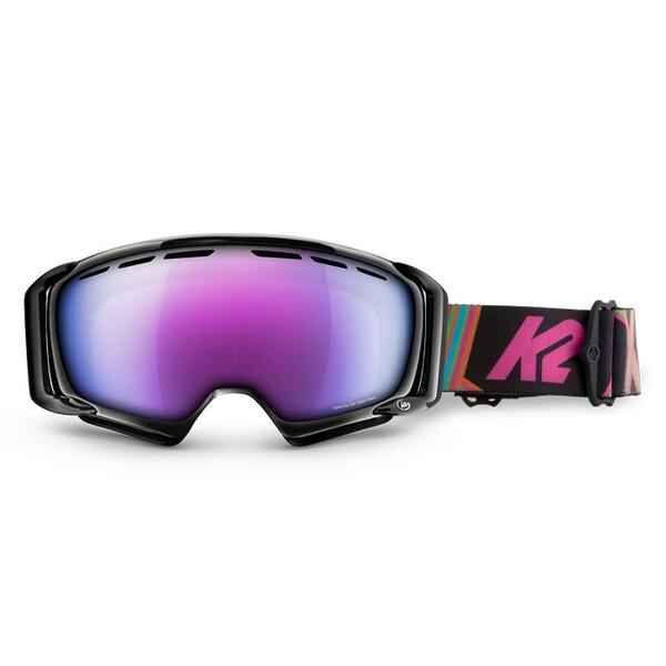 K2 Women's Sira Goggles with Blue/Pink Tripic Mirror Lens