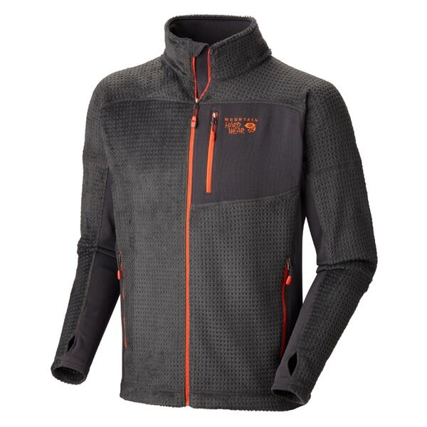 Mountain Hardwear Men's Hoodlss Monkey Man Grid Jacket
