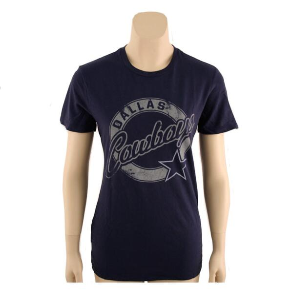 Mitchell And Ness Women's Dallas Cowboys Star Tee-shirt