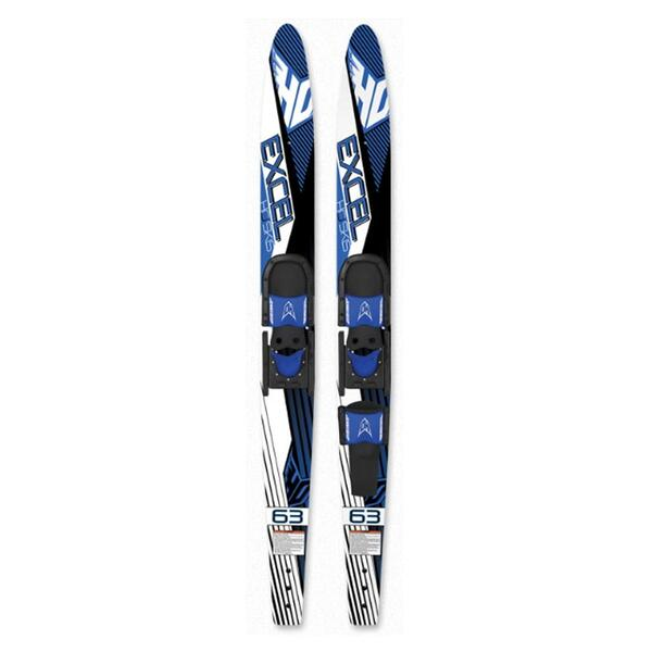 HO Sports Excel Skis w/ Horseshoe/RTS Boot '13