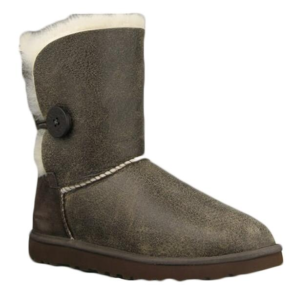 UGG® Women's Bailey Button Bomber Apres Boots