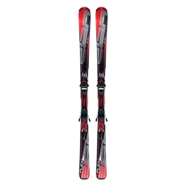 Elan Men's e/Flex 4 Recreational Skis With EL10 Plate Bindings '12