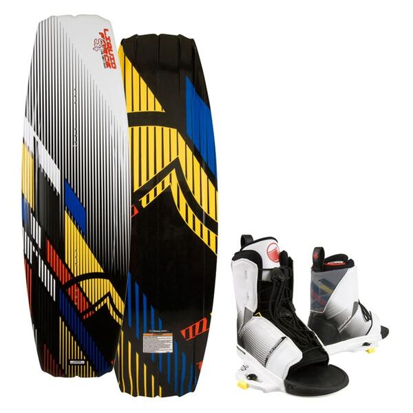Liquid Force Men's S4 Wakeboard w/ Transit Bindings '13
