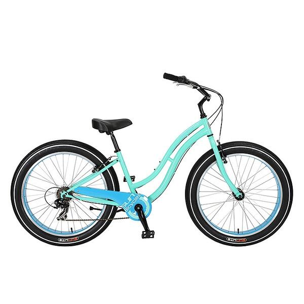 Sun Women's Baja Cruz 7 Speed Step-thru Cruiser Bike