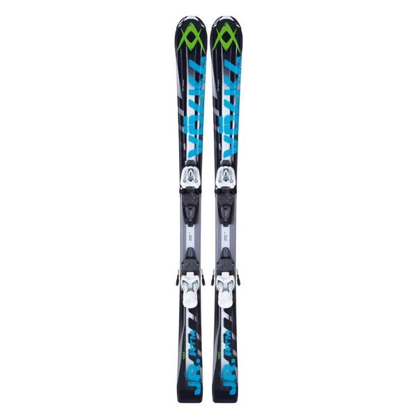 Volkl Boy's RTM Jr All Mountain Skis with Junior 3Motion 4.5 Bindings '13