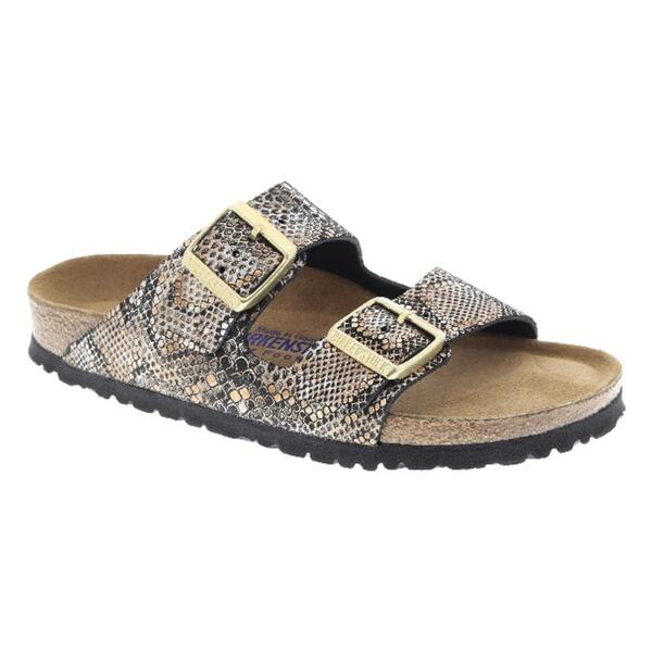 Birkenstock Women's Arizona Soft Python Leather Casual Sandals