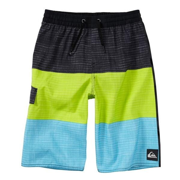 Quiksilver Boy's Sliced Volley Boardshorts