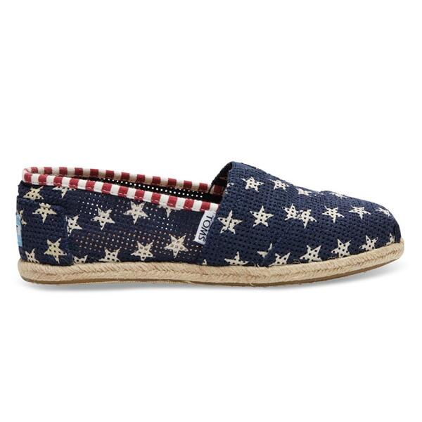 Toms Women's Freetown Star Classic Slip-on Casual Shoes
