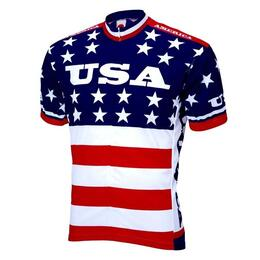 World Jerseys Men's Team Usa 1979 Cycling Jersey
