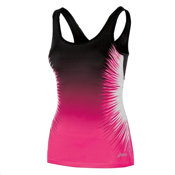 Asics Women's Performance Fun Starburst Running Tank Top