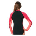 Back of JAG Sport Women's Precision Solids Pull On Rashguard