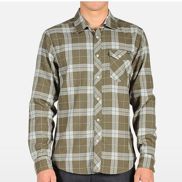 Volcom Men's Flanibus Long Sleeve Shirt