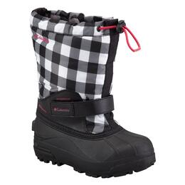 Columbia Children's Powderbug Forty Print Apres Ski Boots