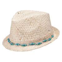 Peter Grimm Women's Kerr Fedora Hat (Natural)