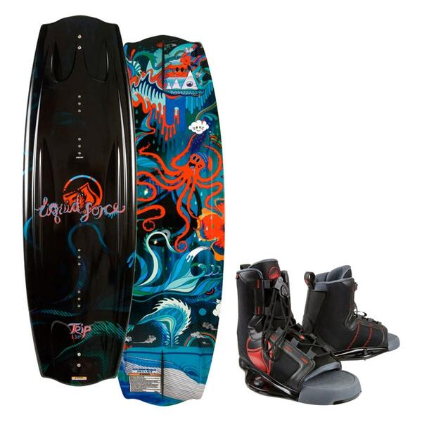 Liquid Force Men's Trip Wakeboard w/ Index Bindings '13