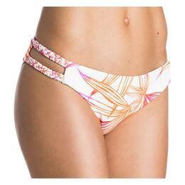 Roxy Jr. Girl's Hearts Of Palms Cheeky Scooter Bikini Bottom