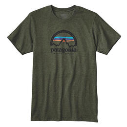 Patagonia Men's Arched Logo Tee Shirt