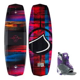 Liquid Force Women's Jett Wakeboard W/ Transit Bindings '15