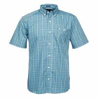 Volcom Men's Everett Mini Check Short Sleeve Shirt