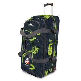 High Sierra US Ski Team Wheeled Duffel Bag