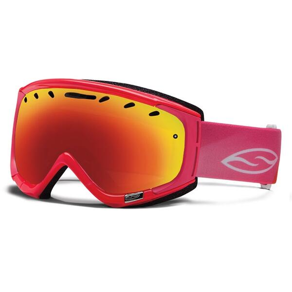 Smith Women's Phase Goggles with Red Sol X Lens
