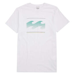 Billabong Men's Ombre Wave Tee Shirt